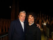 With Ruggero Raimondi, after the performance
